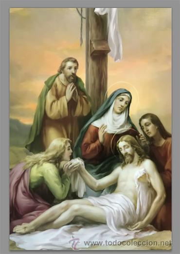 Nuevo: Precioso conjunto de 15 azulejos 20x30 de las estaciones del Via crucis. - Foto 13 - 82325995