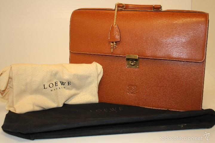 Vago Punto de referencia doblado  Maletin portafolios loewe en piel (nuevo) model - Vendido en Venta Directa  - 55319469