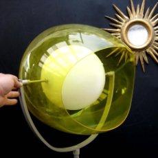 Nuevo: BESTIAL ! DISEÑO ITALIANO SUPER LAMPARA ESTILO VINTAGE RETRO POP ECLIPSE . Lote 56903650