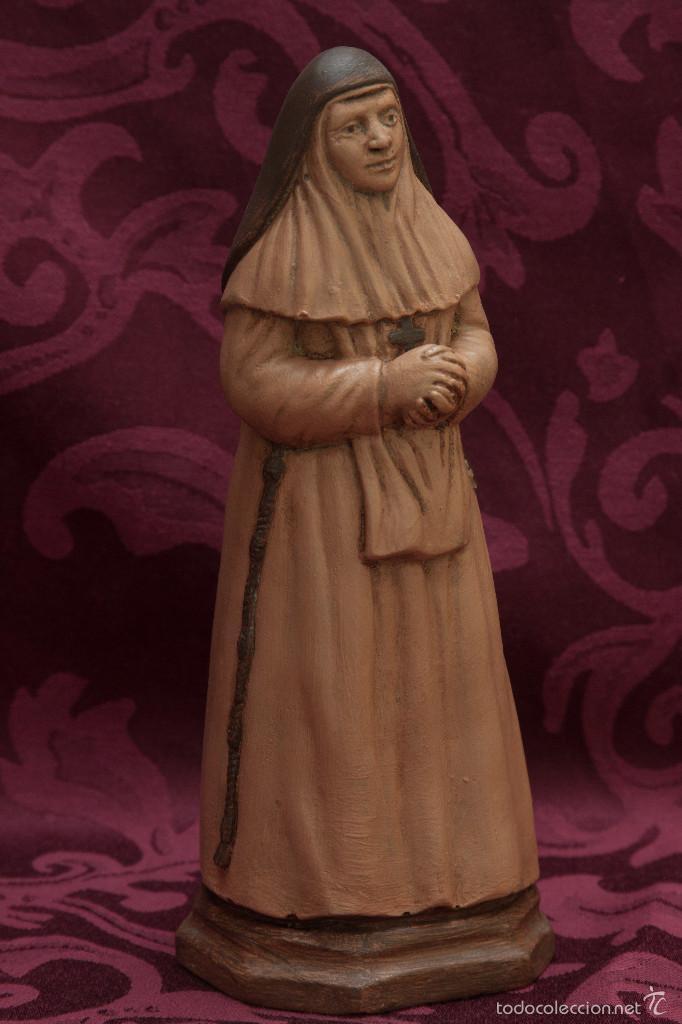 Nuevo: Bonita figura de Santa Angela de 21 ctm de altura - Foto 2 - 57396408