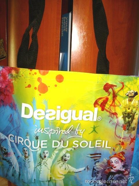 Nuevo: Bolsa exclusiva y edición limitada ** DESIGUAL ** CIRQUE DU SOLEIL - Foto 2 - 216392621