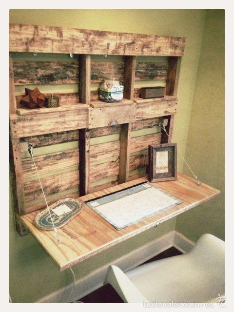 escritorio - estanteria con palets - Comprar Artículos nuevos en ...