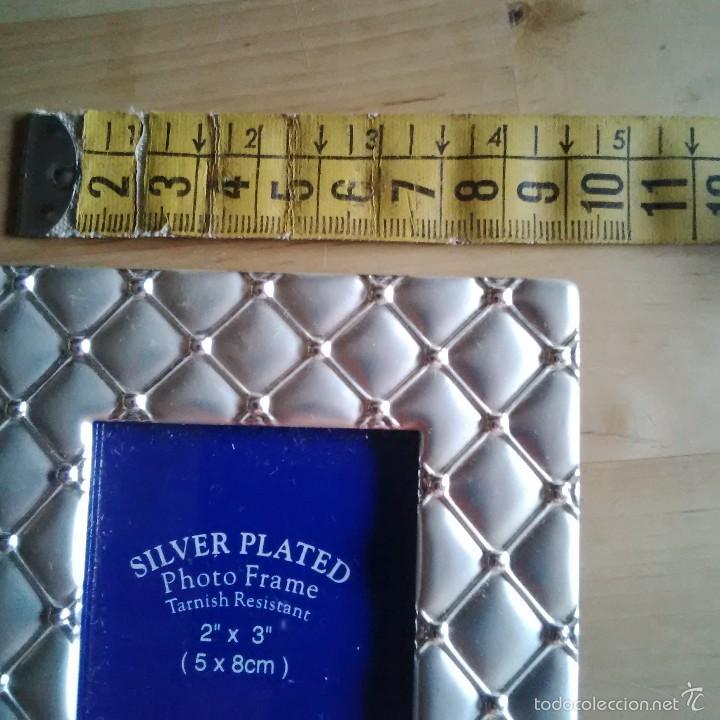 marco de fotos - silver plated - para fotos de - Comprar Artículos ...