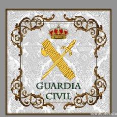 Nuovo: AZULEJO 15X15 CON EMBLEMA DE LA GUARDIA CIVIL. Lote 62597468