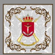 Nuevo: AZULEJO 20X20 CON ESCUDO DE LA IV BANDERA DE LA LEGIÓN CRISTO DE LEPANTO. Lote 62126288