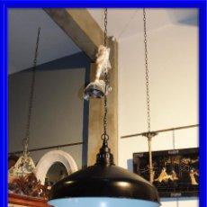 Nuevo: LAMPARA FOCO INDUSTRIAL EN METAL NEGRO DIAMETRO 67. Lote 63578448