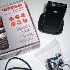 Nuevo: MÓVIL NUEVO-ESPECIAL MAYORES-XENIOR-TELEFUNKEN TM200-COLOR NEGRO-MÓVIL LIBRE-NUEVO-CON CÁMARA FOTOS. Lote 63759887