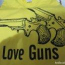 Nuevo: CAMISETA ARMAS LOVE GUNS NUEVA XXL. Lote 68333701