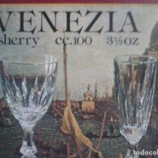 Nuevo: 6 COPAS SHERRY - VENEZIA .. Lote 68484821