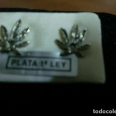 Nuevo: PENDIENTES DE PLATA.. Lote 68885221