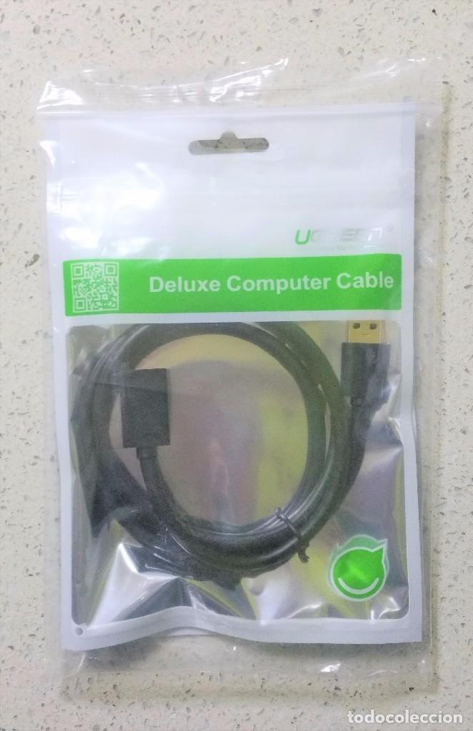 CABLE USB 3.0 MACHO-HEMBRA 60 CM segunda mano