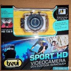 Nuevo: CÁMARA DIGITAL TREVI GO 2200 HD SPORTS. Lote 70343445