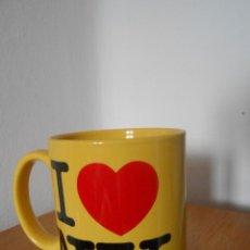 Nuevo: MUG I LOVE NEW YORK- NUEVO SIN USO-. Lote 71924519