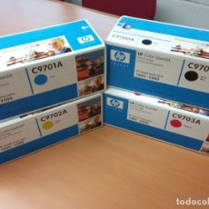 Nuevo: TONER HP COLOR PACK. Lote 72103855