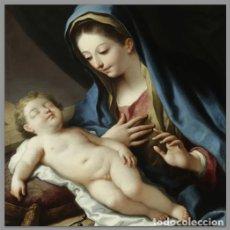 Nuevo: AZULEJO 10X10 DE VIRGEN MARÍA CON NIÑO JESÚS. Lote 75611175