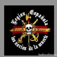 Nuevo: AZULEJO 20X20 DE LA LEGIÓN ESPAÑOLA -LOS NOVIOS DE LA MUERTE-. Lote 76151647