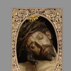 Nuevo: AZULEJO 40X25 DEL SANTÍSIMO CRISTO DE LA SALUD DE SAN BERNARDO DE SEVILLA. Lote 109467784