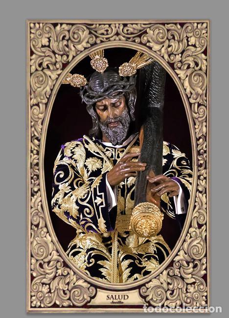 AZULEJO 40X25 DE NUESTRO PADRE JESÚS DE LA SALUD DE SEVILLA -LOS GITANOS- (Artículos Nuevos)