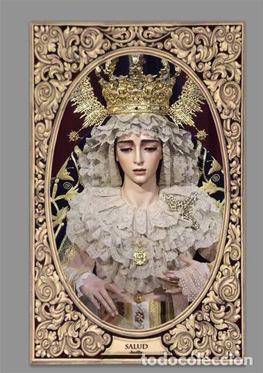 AZULEJO 40X25 DE LA VIRGEN DE LA SALUD DE SEVILLA (Artículos Nuevos)