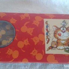 Nuevo: ESTUCHE METAL CHUBBY CAT (AÑOS 80). Lote 85688156