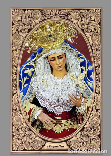 AZULEJO 40X25 DE LA VIRGEN DE LAS ANGUSTIAS (HERMANDAD DE LOS GITANOS,SEVILLA) (Artículos Nuevos)