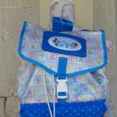 Nuevo: MOCHILA DISNEY BABIES DE SAFTA AÑOS 80. Lote 160563141