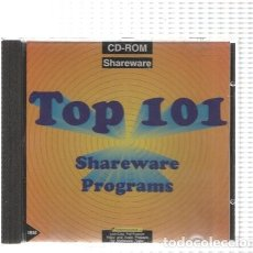 Nuevo: CD-ROM: TOP 101 SHAREWARE AND PROGAMS (RECOPILATORIO SOFTWARE POWERSOURCE 1993). Lote 95744383