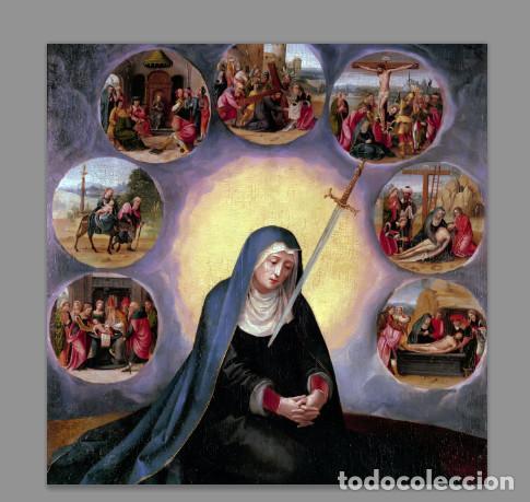 AZULEJO 15X15 DE LOS DOLORES DE LA VIRGEN MARÍA (Artículos Nuevos)