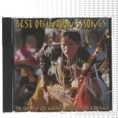 Nuevo: CD-MUSICA: BEST OF INDIAN'S SONGS - THE SOUND OF THE INDIAN'S SPIRITS . Lote 95786922