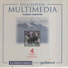 Nuevo: CD MULTIMEDIA: ENCICLOPEDIA MULTIMEDIA LA VANGUARDIA NO.04: DADRA-ESTAFERMO. Lote 95802043