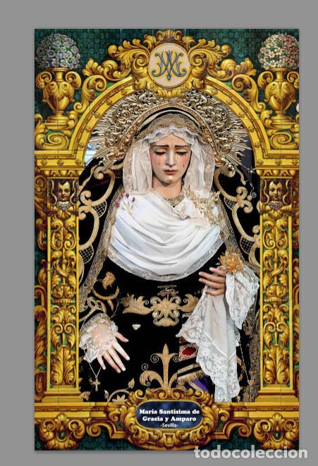 AZULEJO 20X30 DE LA VIRGEN DE GRACIA Y AMPARO DE SEVILLA (Artículos Nuevos)