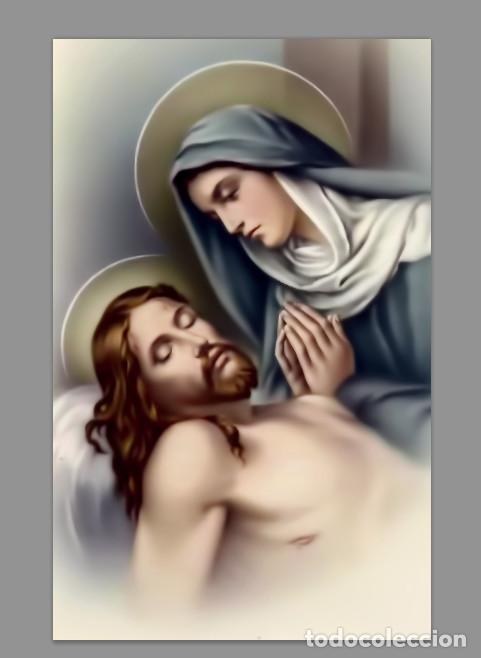 AZULEJO 20X30 DE LA VIRGEN MARÍA Y JESUCRISTO (Artículos Nuevos)