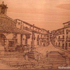 Nuevo: CANDELARIO, PIROGRABADO.. Lote 100611595