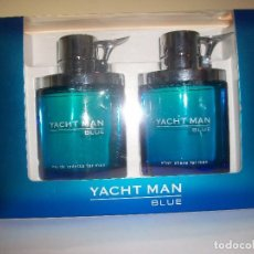 Nuevo: COLONIA Y AFTER SHAVE FOR MEN. YACHT MAN. Lote 100671003