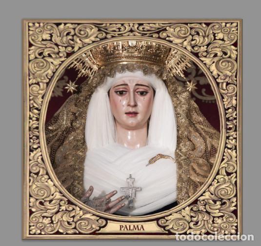 AZULEJO 15X15 DE LA VIRGEN DE LA PALMA DE SEVILLA (Artículos Nuevos)
