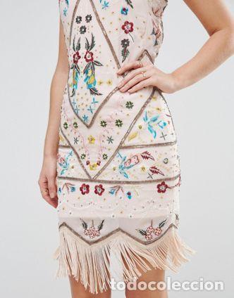 Nuevo: Vestido flapper con bordados talla 38 - Foto 3 - 105382939