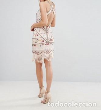 Nuevo: Vestido flapper con bordados talla 38 - Foto 4 - 105382939
