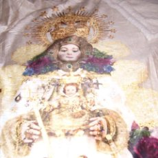 Nuevo: VIRGEN MARÍA-ROCIO-CATÓLICO-JESÚS-NAVIDAD-PLAID-MANTA SUPER SUAVE-NUEVA-130 X 160 CM-. Lote 105698675