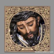 Nuevo: AZULEJO 15X15 DEL CRISTO DE LAS TRES CAIDAS DE TRIANA (SEVILLA). Lote 107311763