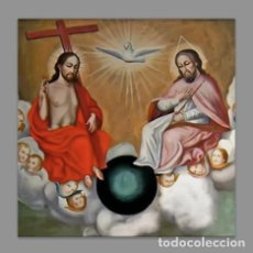Nuevo: AZULEJO 15X15 DE LA SANTISIMA TRINIDAD. Lote 108434787
