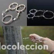 Nuevo: CABLE SIERRA DE ACERO - ESPECIAL MONTAÑISMO Y SUPERVIVENCIA - ARTICULO NUEVO . Lote 110101271