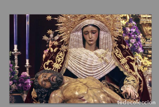 AZULEJO 20X30 DE LA VIRGEN DE LA PIEDAD ( HERMANDAD DEL BARATILLO,SEVILLA) (Artículos Nuevos)