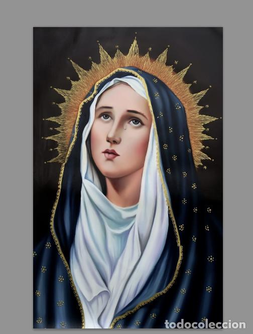 AZULEJO 20X30 CON LA VIRGEN MARIA DOLOROSA (Artículos Nuevos)