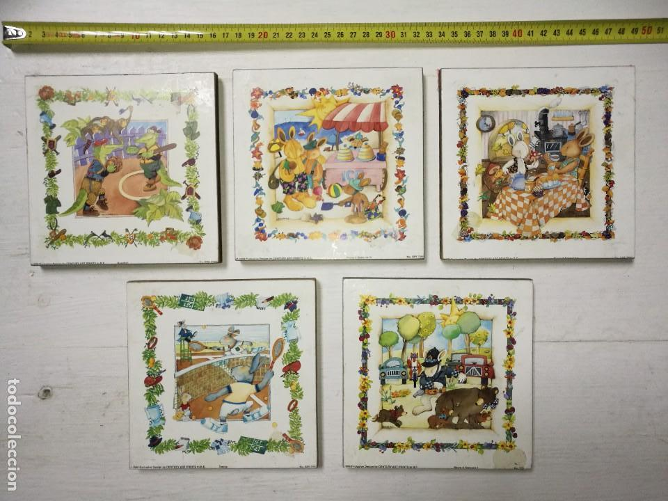lote de cinco cuadros infantiles - Comprar Artículos nuevos en ...