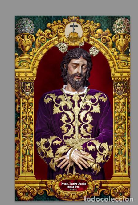 AZULEJO 20X30 DE NUESTRO PADRE JESÚS DE LA PAZ DE SEVILLA (CARMEN DOLOROSO) (Artículos Nuevos)