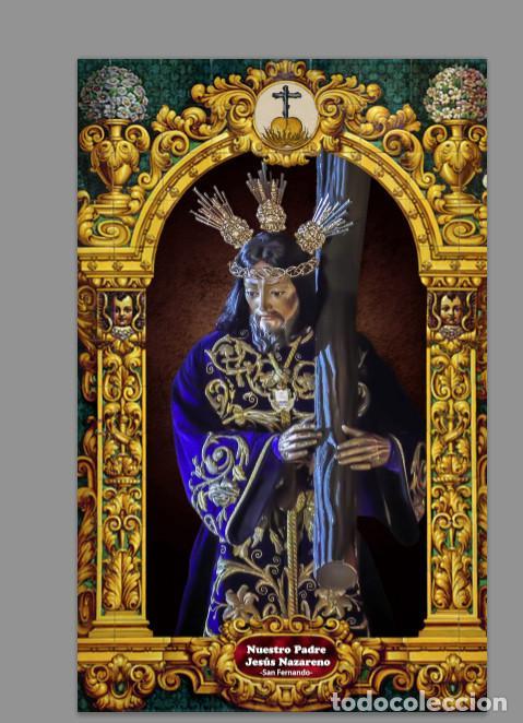 AZULEJO 20X30 DE NUESTRO PADRE JESÚS NAZARENO (SAN FERNANDO) (Artículos Nuevos)