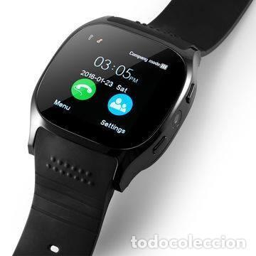 Lote de 10 relojes T8 Smartwatch, con ranuras para Sim y MicroSd, Bluetooth, Android IOS, en negro. segunda mano