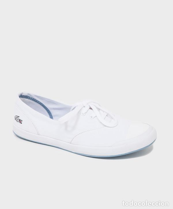 606469c32ecce zapatillas lona blancas lacoste talla 39 - Comprar Artículos nuevos ...