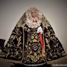 Nuevo: HERMOSISIMA ESCULTURA DE LA VIRGEN DOLOROSA. Lote 127763615