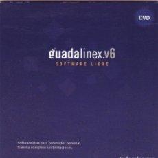Novo: GUADALINEX 6 – SISTEMA OPERATIVO ORIGINAL, SOFTWARE LIBRE PARA ORDENADORES PERSONALES.. Lote 217801761